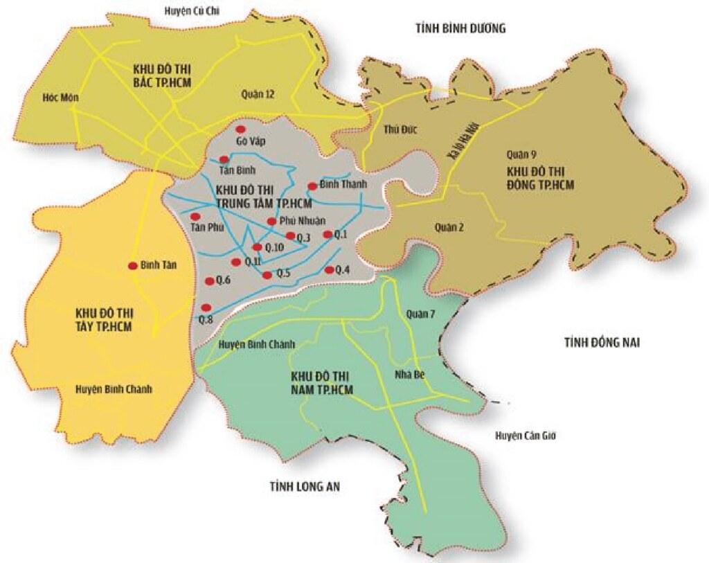 115.000 tỷ đồng đổ vào hạ tầng giao thông, BĐS khu Nam Sài Gòn hưởng lợi lớn